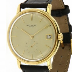 Vintage date ref. 3445, in 18kt yellow gold
