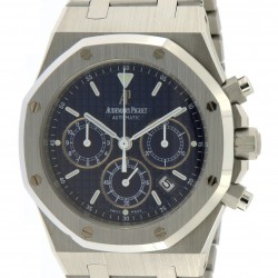 Royal Oak Chrono Stainless Steel, 25860ST from year 2002, full set