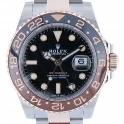 "GMT master II ref.126711CHNR Steel and Rose Gold, ""Rootbeer"", New"
