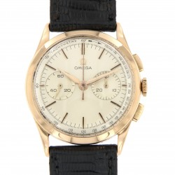 Vintage Chronograph 18k rose gold, cal.320, made in the year 1958