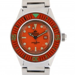 Caribbean 1500, ref.4802, Orange Dial and Bezel, from 70s