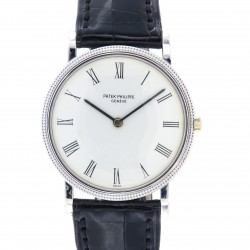 Vintage Calatrava 18kt white gold, ref. 3520, automatic, from 70s
