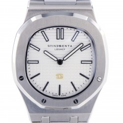 Genius Legacy Stainless Steel, White Dial, One Piece for Alex Del Piero, New