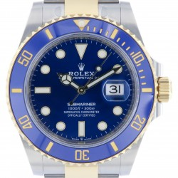 New Submariner 41mm 126613LB, Steel and 18K Yellow Gold, 2021