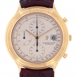 Huitieme Chronograph 18k rose gold from 90s