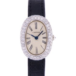 Vintage Baignoire Platinum and Diamonds, from 70s