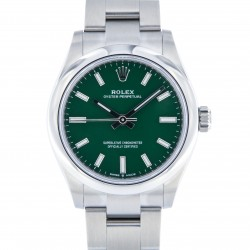 New Oyster Perpetual 31mm, Green Dial, Full Set