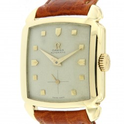 """""""Big chocolate"""" automatic, 18K Yellow Gold, made in 1951"""
