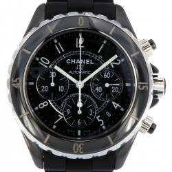J12 Black Ceramic 41mm Chronograph