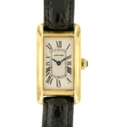 Tank Americaine Lady, 18kt yellow gold, ref. 1710, Full set 1999