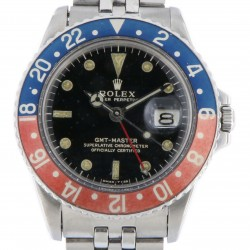 GMT Master ref.1675 Gilt Dial and Faded Bezel , from 1966