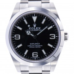 New Explorer 39mm ref. 214270, Full Set 2020