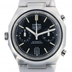 Cortina Vintage Chronograph Ref.R110.233, Stainless Steel from 70s