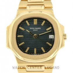 Nautilus ref.3800 18kt Yellow Gold, Full Set, from year 1990