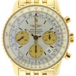 Navitimer 18kt Yellow Gold, ref. K23322, full set