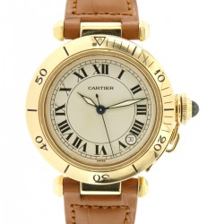 Pasha 35mm, 18kt yellow gold, ref.1035, automatic