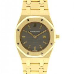 Royal Oak Lady 18kt Yellow Gold, from 90s