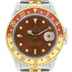 GMT Master II, Steel and Gold Tiger Eye, ref.16713, from 1991, full set