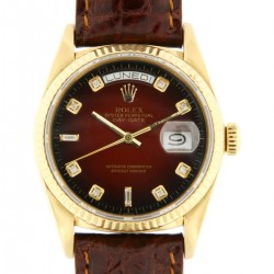 Day Date Degrade Diamonds dial, 18kt yellow gold, ref. 18038, from 1988