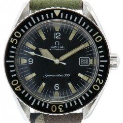 Seamaster 300 Date, ref. 166.024 , from 1969