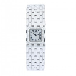 Ruban 18k White Gold, Mother of Pearl Dial & Diamond Bezel, with Service