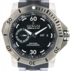 Admiral's Cup Deep Hull 48 Day Date, Limited edition, full set