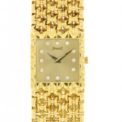 Lady jewel wristwatch, 18kt Yellow gold, ref.9352 from 80s