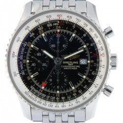 Navitimer Chronograph GMT 46mm, Stainless Steel, ref. A24322