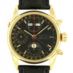 Chronograph Navy Master 18kt Yellow Gold 1887/1987, full set