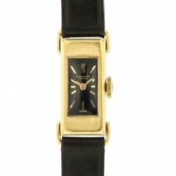 Vintage Lady Black Dial, Ref. 226, 18 kt yellow gold from year 1939