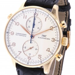 Portuguese Chronograph Rattrapante 18k rose gold ref. IW3712, full set