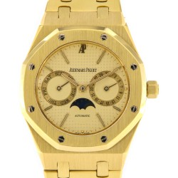 Royal Oak DayDate Moon phases, 18kt gold, Ref. 5594BA, from 1985