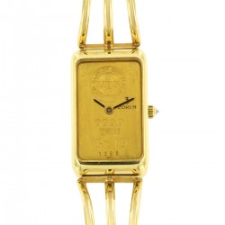 18K Yellow Gold 10 Gr. Ingot 999.9 Mechanical, for Ladies