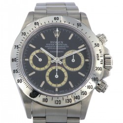 Daytona Floating Black Dial with Cream Patrizzi Subdials, Ref.16520, R serial