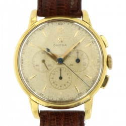 Vintage Chronograph ref. 2466 in 18k yellow gold, made in the 50s