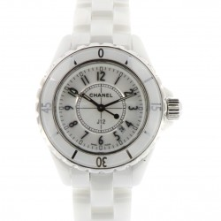 J12 White Ceramic 33mm Quartz, ref. H0968