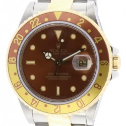GMT Master II,Steel and Gold, ref.16713, Tiger Eye Dial, from 1992