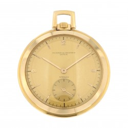 Pocket Watch, 18K Rose Gold retailed by Strauch, from '40