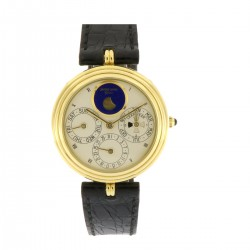 Perpetual Calendar 18kt yellow gold, full set