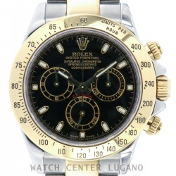 Daytona stainless steel and gold ref. 116523, from 2006