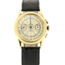 Piccolino, Vintage Chronograph Ref.3055,18 Kt Yellow Gold
