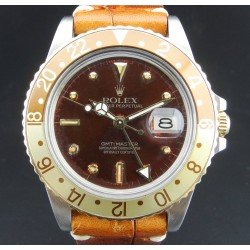 GMT Master Steel and Gold, ref.16753, Tropical Orange Dial, from 1983