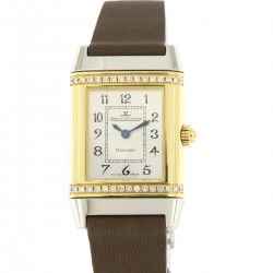 """Reverso """"Floreale"""" petite taille, steel and gold, ref.265.5.08"""