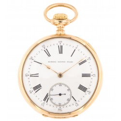 "Chronometro Gondolo et Labouriau, pocket watch 18kt pink gold from 1908, ""Almeida Santos Filho"""