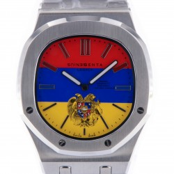 Genius Legacy Stainless Steel, Multicolor Dial, One Piece for Zareh & Alecco Bezikian, New