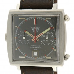Monaco, Steve McQueen, Black Dial, ref.1133 from year 1970