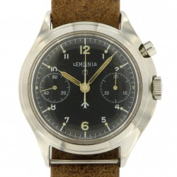 Lemania Military, Chronograph monopusher from 1969 for R.A.F.