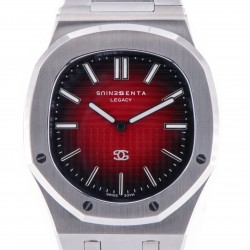 Genius Legacy Stainless Steel, Red Dial, One Piece for Douglas Costa, New