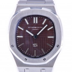Genius Legacy Stainless Steel, Brown Dial, Limited Edition 99 pcs, New
