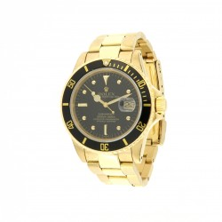 Submariner Date 18kt Yellow Gold, ref.16808, Black Dial